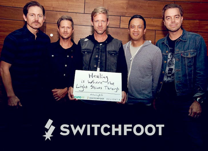 Switchfoot help kids with disabilities