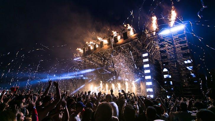 Lecrae and Guvna B at 2022 Summer Festival