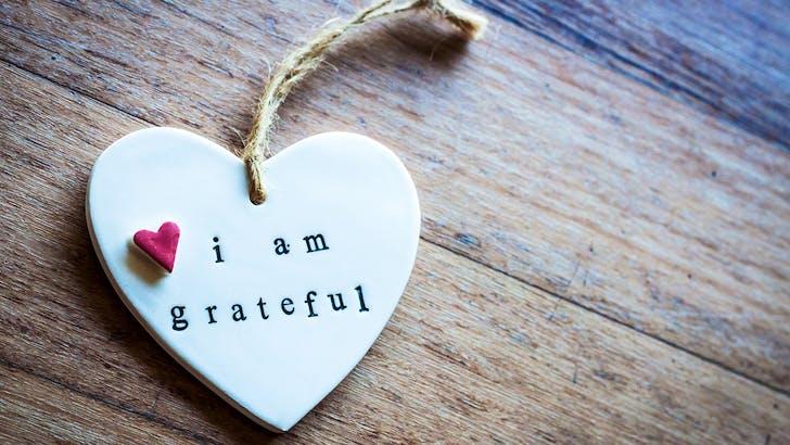 Choosing an attitude of gratitude