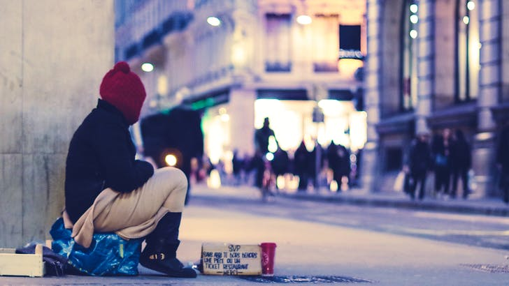 Let's fight homelessness together